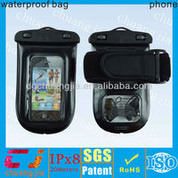 Super clear pvc custom waterproof case for iphone 4/4s