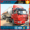 32000 liters stainless steel fuel tank semi trailer for gasoline diesel jet fuel etc