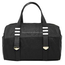 indian designer fashion women genuine leather black sling bag foldable shopping bag tote bags for girls
