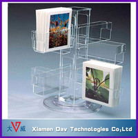 desktop acrylic welding greeting handmade cards display stands