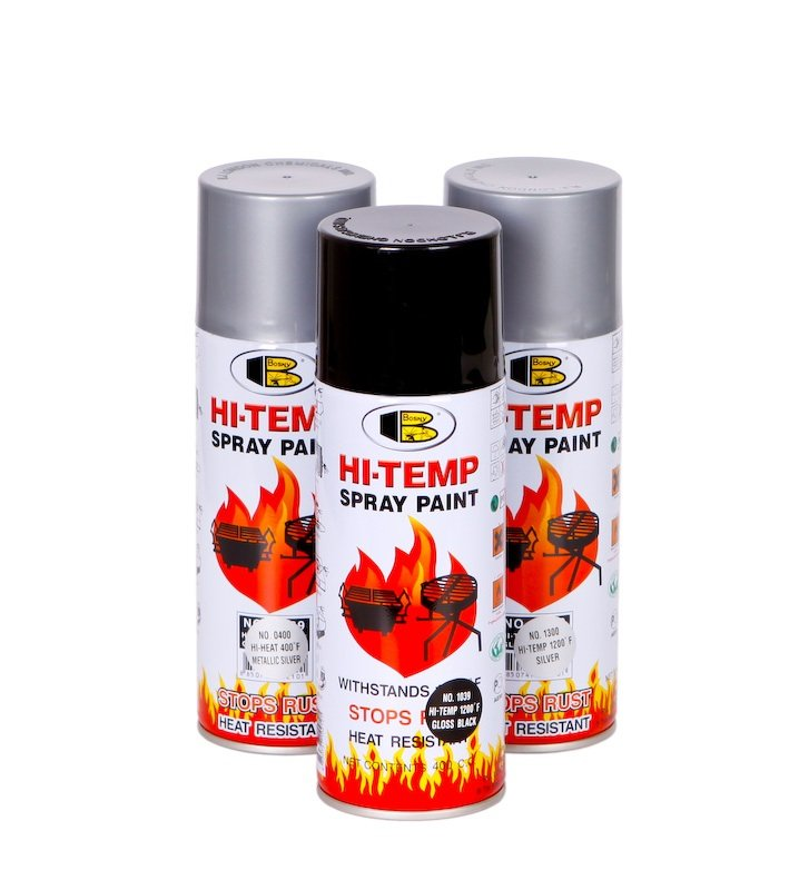 Bosny Hi Heat Resistant 400f Spray Paint Buy Paint Product On