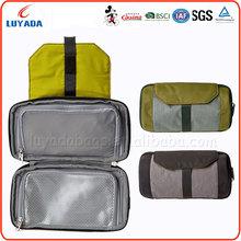 New arrived nylon foldable toiletry bags/cosmetic bag/makeup bag,hanging toiletry bag