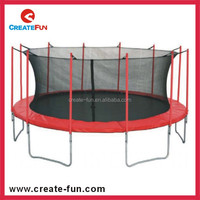 CreateFun 16FT Large Outdoor Round Trampolines Enclosure Net For Commercial Selling