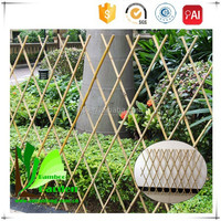 Nature Pressure Treated Wood Type and BAMBOO Frame Material bamboo cane in fencing