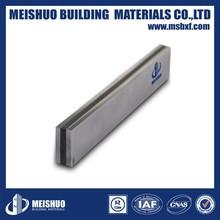 Aluminum side plate Crack movement joint filler for concrete floor