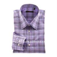 High quality hot sale men plaids hawaiian shirt