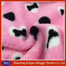 Mingge coral fleece fabric knit textile 288F textile cloth fabric