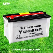 Yuasan Professionally Manufacturing Lead Acid Dry 12V100AH Car Battery -- N100(12V100AH)