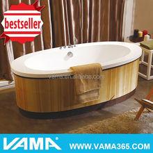 VAMA VY-2906 factory wholesale cheap wooden bathtubs