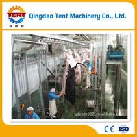 Hydraulic slaughterhouse line cattle slaughter house cattle skin peeling machine