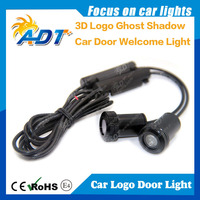3w 5w door light projector ghost shadow light welcome car led lights laser lamp Support custom any LOGO