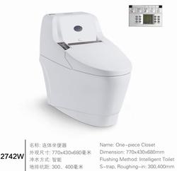 MJS2742W China mauufature sanitary ware intellignet wc toilet