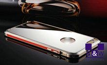 Fancy aluminum mirror bumper case / aluminum mirror cellphone case for iPhone 6 / 6s 4.7 inch
