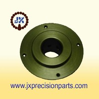 Dark brown hard anodic aluminum alloy precision parts