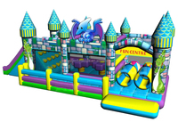 Commercial inflatables adult jumpers bouncers,inflatable fun house W3031
