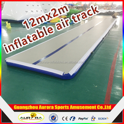 Customized tumble track inflatable air mat for gymnastics