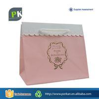 Custom Printed Logo Wedding Paper Shopping Gift Bag