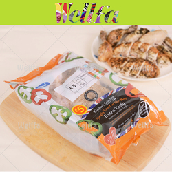 Back Seal Frozen Chicken Packaging Plastic Bag/ Plastic Bag Packaging for Baked Chicken
