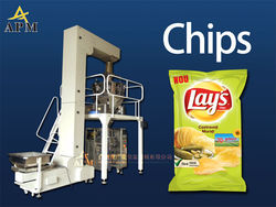 Dry fruit/potato chips packing machine