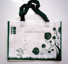 Top quality custom reusable PP non woven shopping bag with logo printing