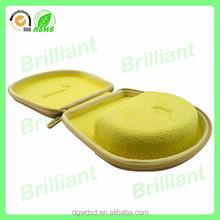high quality comfortable velvet eva headphone case