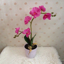7Led artificial butterfly orchid flowers with led lights