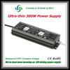 Slim LED transformer 12v 300w 100 amp dc power supply