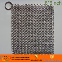6*8 inch Iron cast pot scrubber cleaning