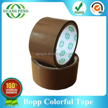Quality Guaranteed Water Base Acrylic Colored Tape Roll For Packaging