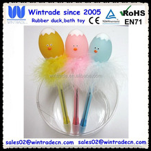 Plastic egg pen/Easter toy gift pen/led light toy pen