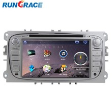 FORD FOCUS 7inch 2 din dvd player for car DVD/SD/USB/BT/TV/AUXIN/RADIO/CAMERA/IPOD/GPS