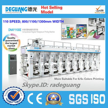 2015 best selling Computerized register gravure printing machine Automatic printing machine manufacturer Computer printing machi