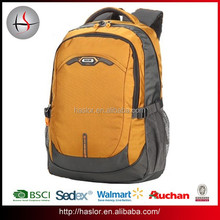2015 New Design 600D Polyester Leisure Business Laptop Cheap Brand Backpack for Travel