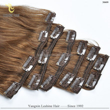 aliexpress alibaba certified doule weft wholesale virgin remy cheap clip in hair extension reviews