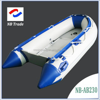 2.7m inflatable boat with aluminum floor PVC0.9mm