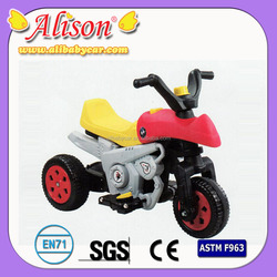 2015 New Alison T03309 china 3 wheel motor tricycle hot baby tricycle kids battery tricycle