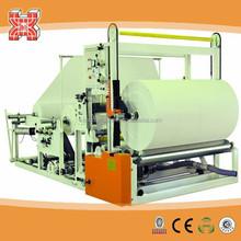 XX-QPZ-1575 Good quality auto jumbo roll tissue slitting and rewinding machine
