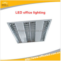 factory sales credict insurance product recessed t5 fixture light fluorescent lighting, led office lighting
