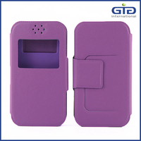 [GGIT] Leather silicone universal cell phone case for all mobile