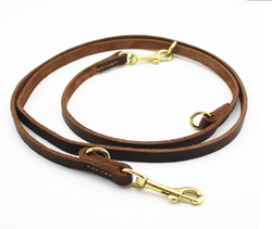 genuine leather braided dog leash and collar set dog product