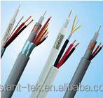 Water-cooled armoured electric cable