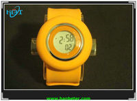 Newest!! hot sale best price new cheap silicone slap watch 2011