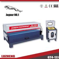 GT4-14 Automatic hydraulic steel bar/rebar straightening and cutting machine