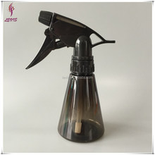 150ml empty black trigger small plastic pump spray bottle
