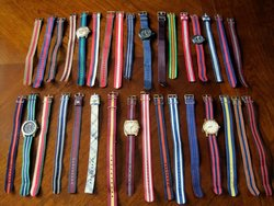 fabric watch straps