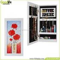 Modern oil paint wooden jewelry cabinet