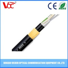 Cable manufacturer supply self supporting fiber optic cable ADSS