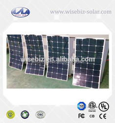 High Efficiency monocrystalline flexible solar panel 150W