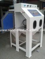beads sand blasting machine/ beads sand blasting cabinet