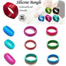 Eco-friendly Best Quality Low Price Food Grade Silicone Teething Bracelet